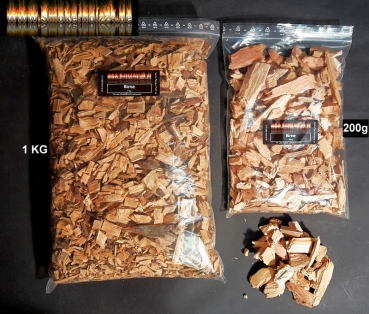 BBQ Wood Chips Birne pear 1KG Birnenholz Woodchips