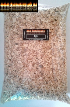 BBQ Erle / alder  Woodchips (fein) 3 bis 7mm