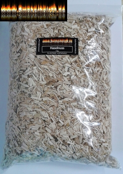 BBQ Wood Chips Haselnuss fein 3-7mm