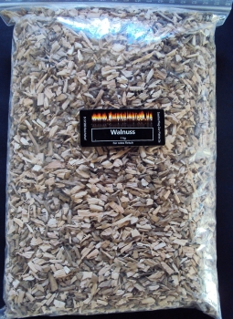 BBQ Wood Chips Walnuss fein 3-7mm