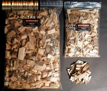 BBQ Wood Chips Walnuss 1KG