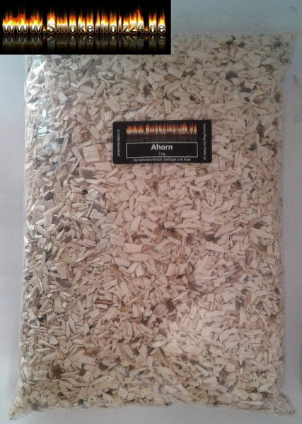 BBQ Woodchips Ahorn
