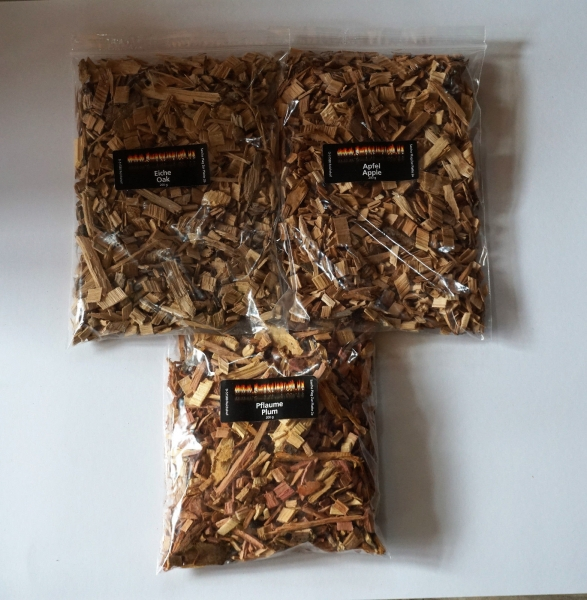 BBQ Wood Chips Mix 2,2 KG